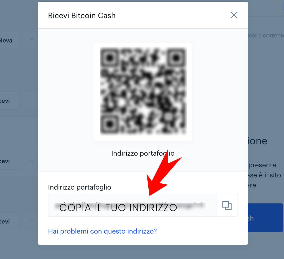 ricevere-criptomonete-su-coinbase